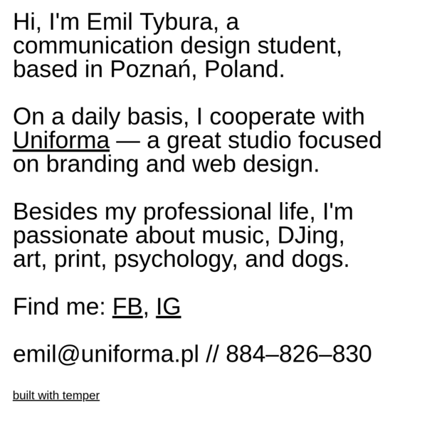 Emil Tybura