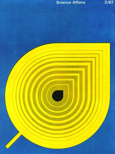 Poster for a fashion show presenting paper dresses. From Graphis Annual 68/69. Illustration/Hirokatsu Hijukata