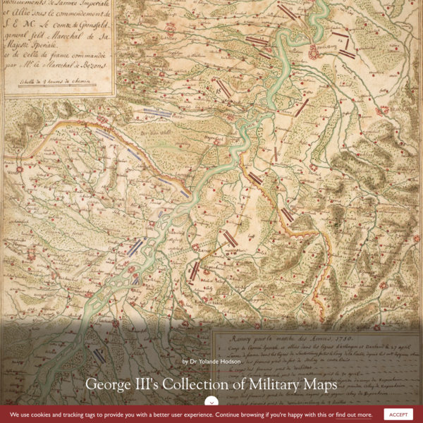 George IIIs Collection of Military Maps