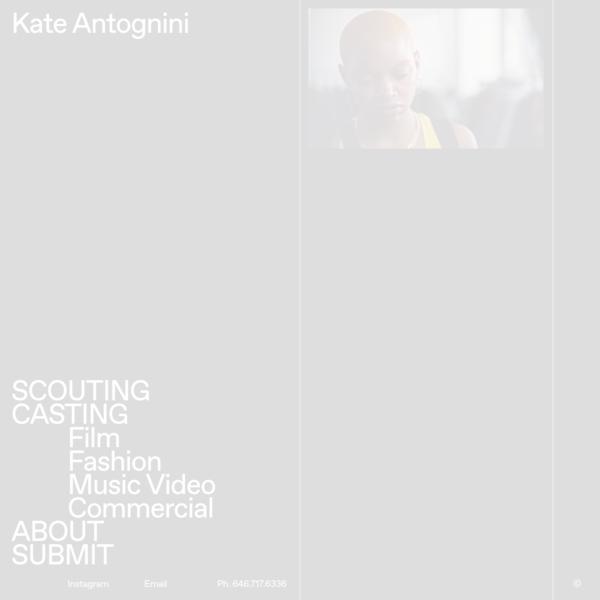 Kate Antognini