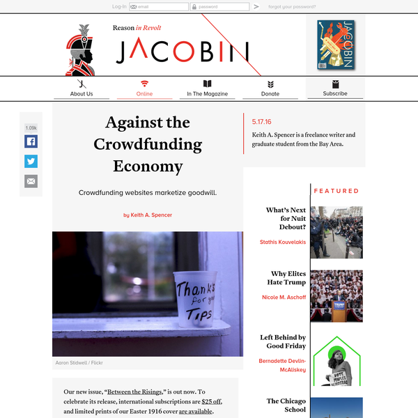 Against the Crowdfunding Economy