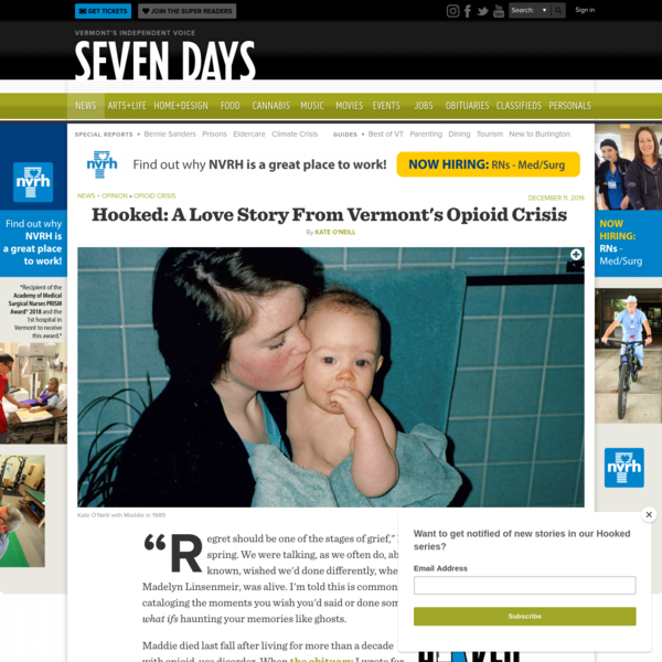 Hooked: A Love Story From Vermont's Opioid Crisis