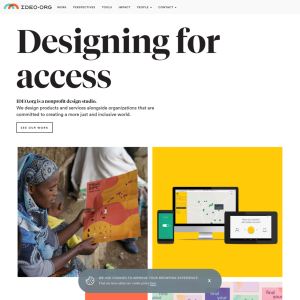 IDEO.org is a nonprofit design studio