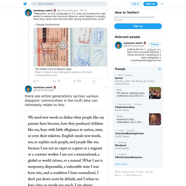 momtaza mehri 💆🏾♀️ on Twitter