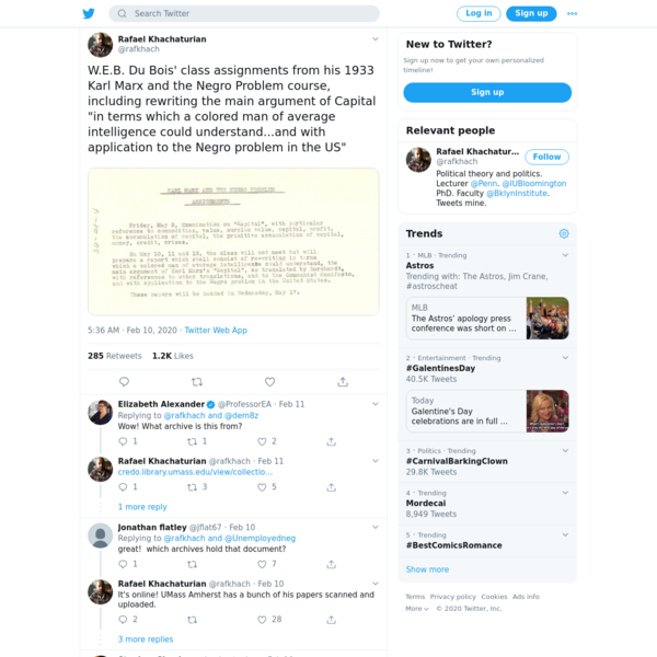 Rafael Khachaturian on Twitter