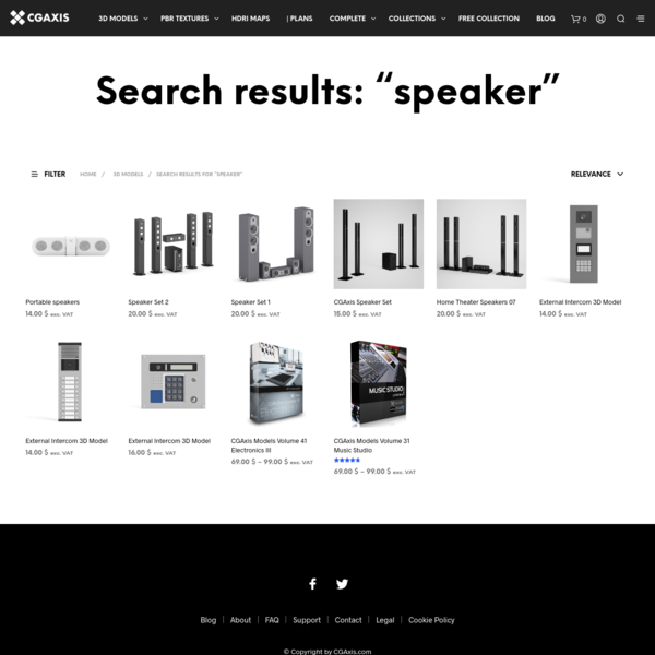 """Search Results for """"speaker"""" - CGAxis 3D Models Store"""