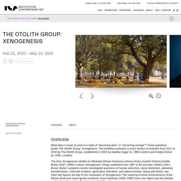 The Otolith Group: Xenogenesis - Institute for Contemporary Art