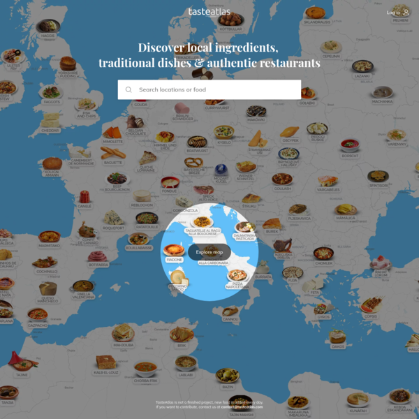 World Food Atlas: Discover 11,062 Local Dishes & Ingredients