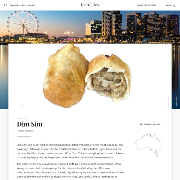 Dim Sim | Traditional Dumplings From Melbourne | TasteAtlas