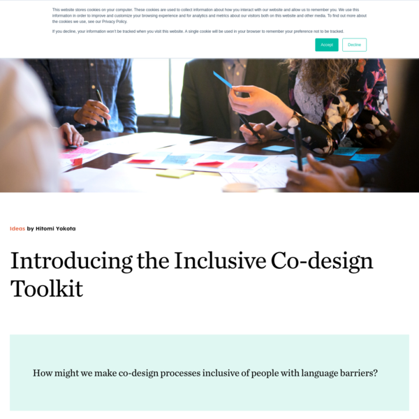 The Inclusive Co-design Toolkit | Bridgeable