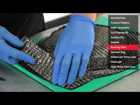 How to Make a Prepreg Carbon Fibre Mould (Using XPREG® Tooling Prepreg)