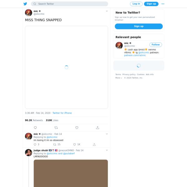 mic 𖤐 on Twitter