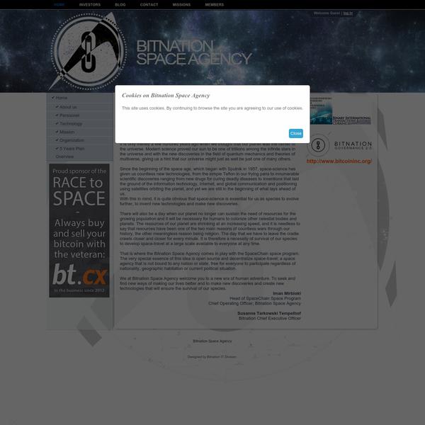 Bitnation Space Agency