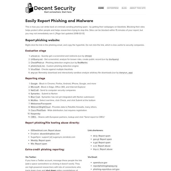 Decent Security