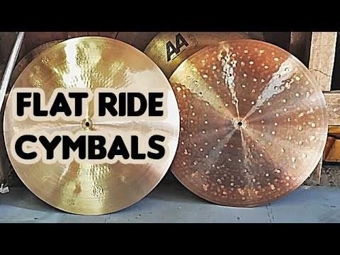 I bought 2 Flat Ride Cymbals
