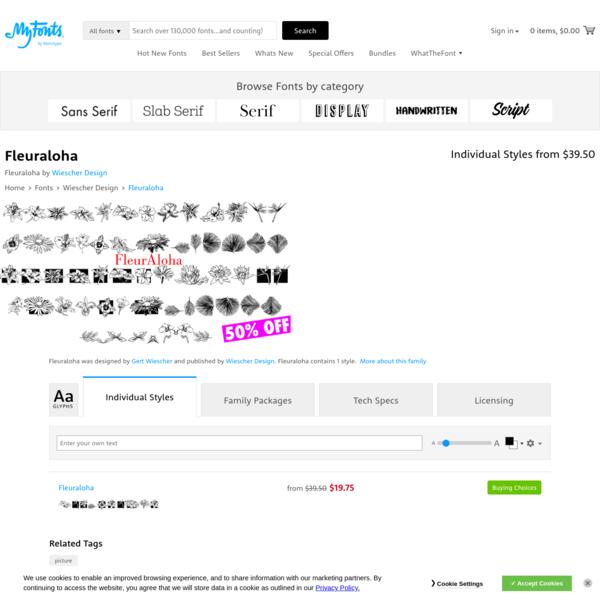 Fleuraloha | Webfont & Desktop font | MyFonts