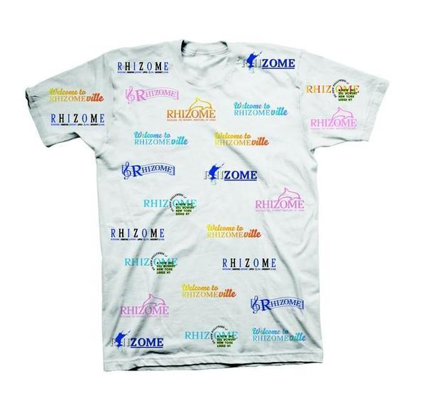 """Rhizome """"Bad Logo"""" T-Shirt"""