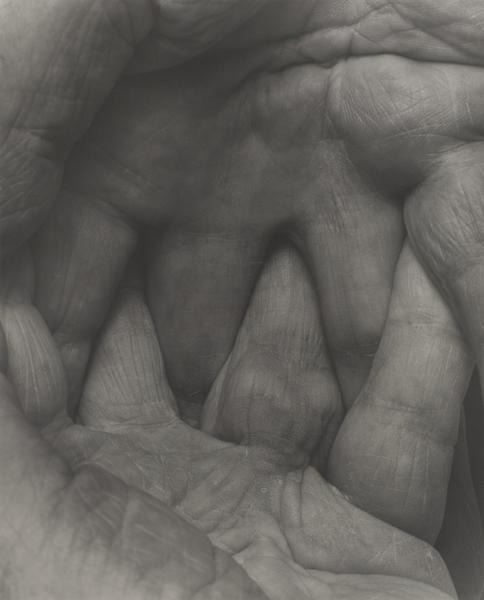 Self Portrait - Interlocking Fingers No. 5