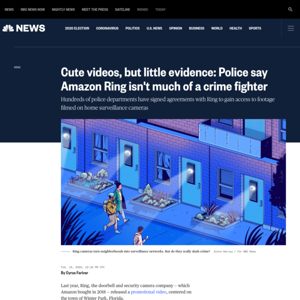 Cute videos, but little evidence: Police say Amazon Ring isn't much of a crime fighter