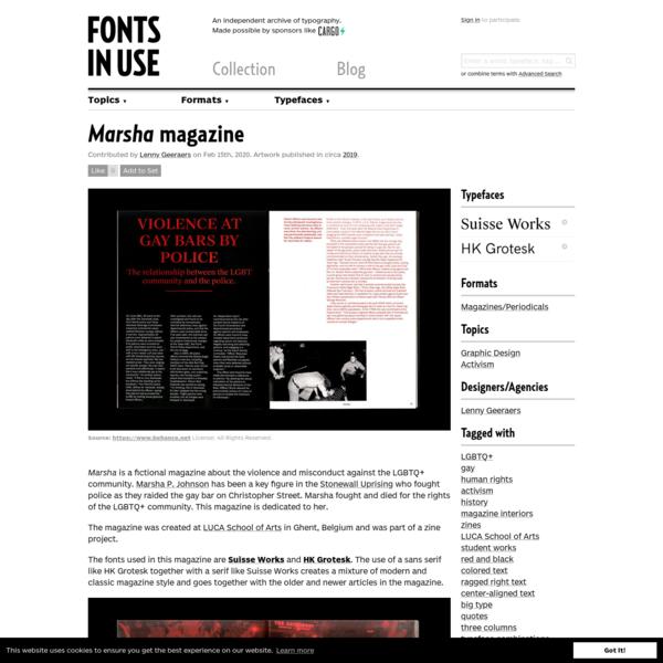 Marsha magazine