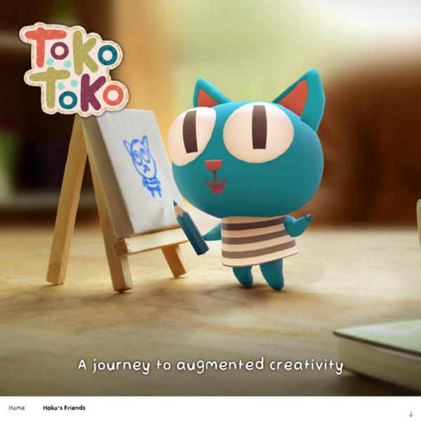 Tokotoko - AR Mobile Game - A journey to augmented creativity