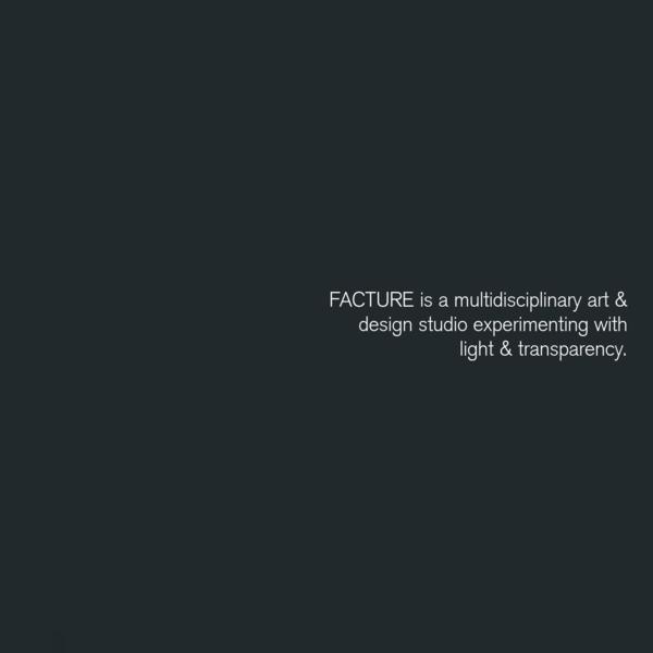 Facture Studio