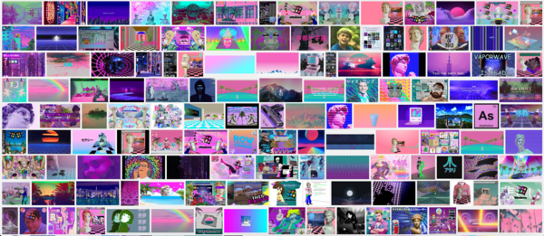 Search of Vaporwave