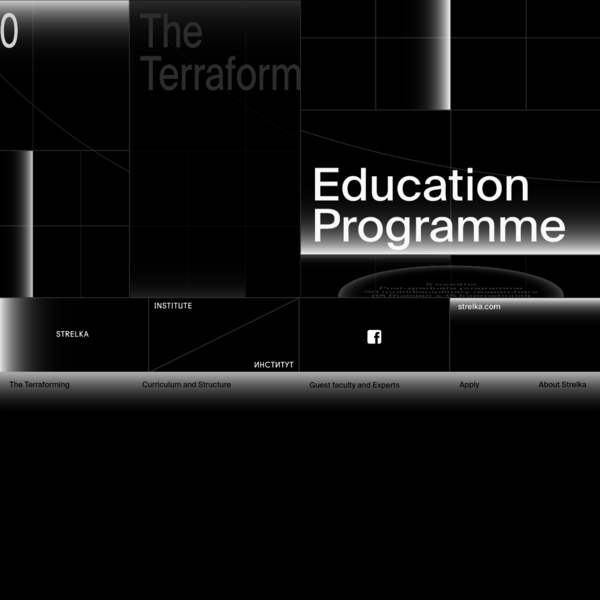 Apply to The Terraforming Education Programme