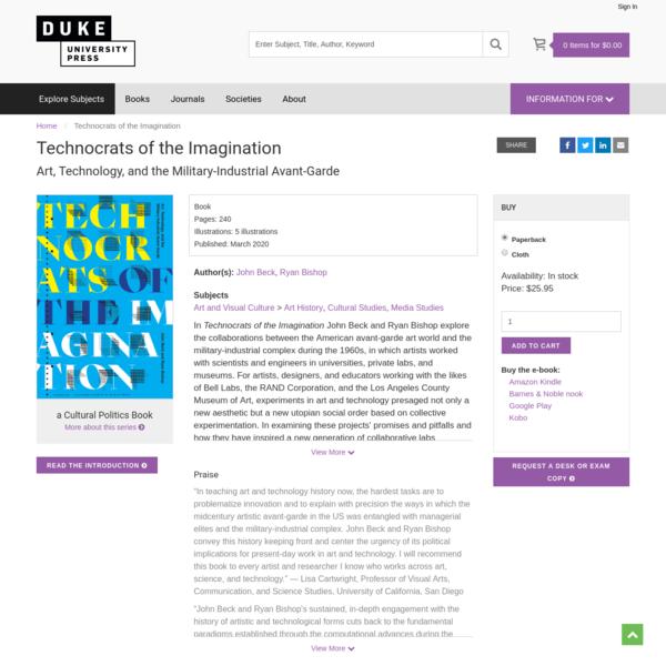Technocrats of the Imagination