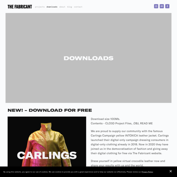 Downloads - The Fabricant