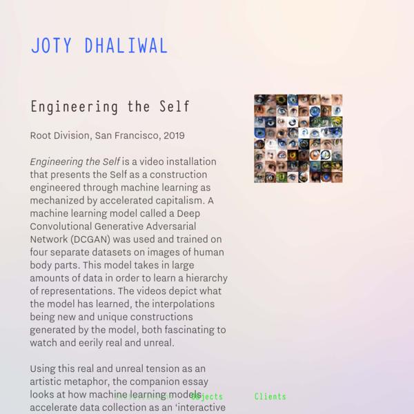 Installations - Joty Dhaliwal