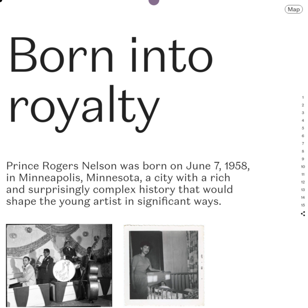 Page not found - Prince's Early Years