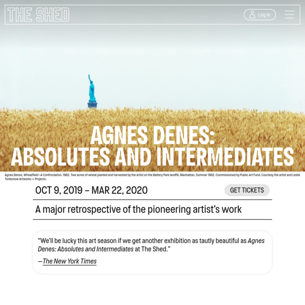 Agnes Denes: Absolutes and Intermediates - The Shed