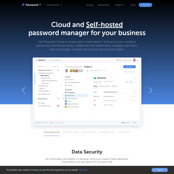 Team Password Manager For Business