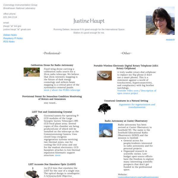 Portfolio and Miscellaneous