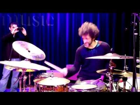 Jojo Mayer soundcheck at the Berklee College of Music