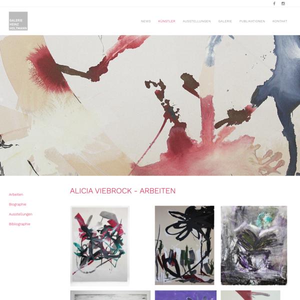 Alicia Viebrock - Galerie Heinz Holtmann