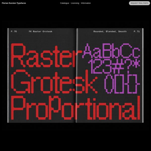 Florian Karsten Typefaces