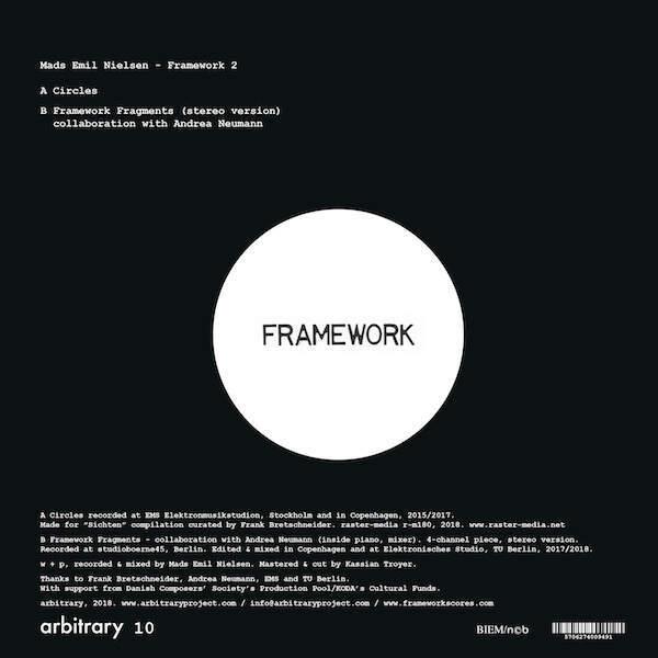 Mads Emil Nielsen with Andrea Neumann, Jan Jelinek and Hideki Umezawa - Framework 2