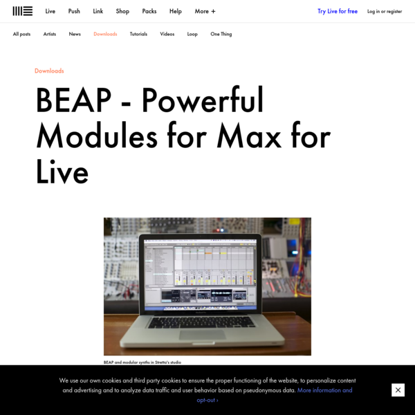 BEAP - Powerful Modules for Max for Live