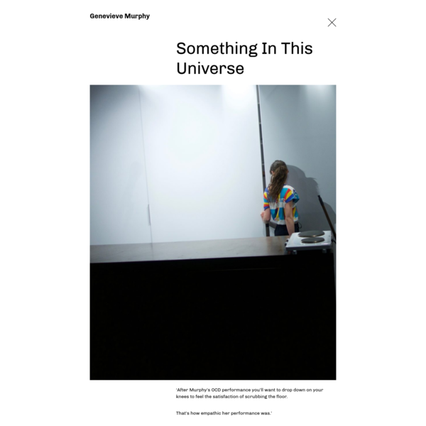 Something In This Universe - Genevieve Murphy
