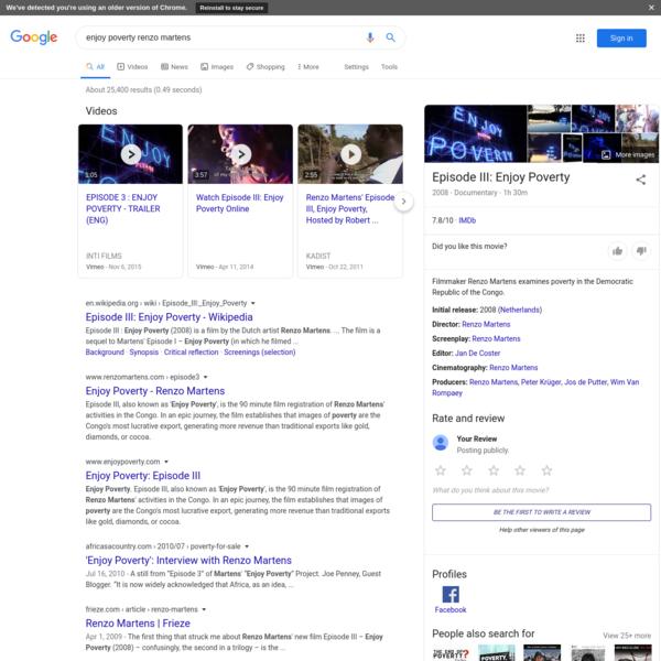 enjoy poverty renzo martens - Google Search