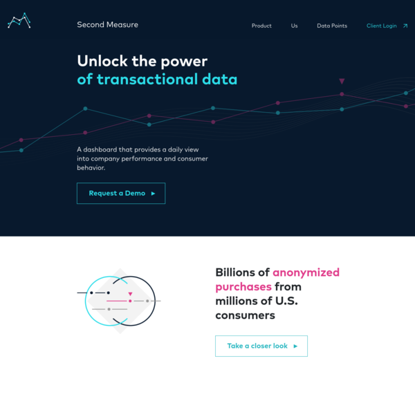 Second Measure - An analytics platform that lets you see inside companies