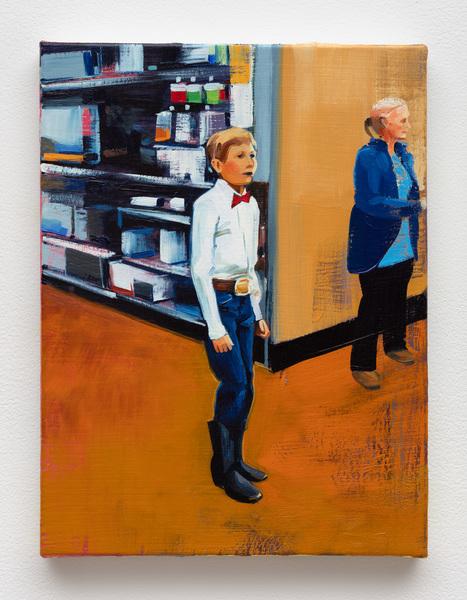 Mason (at Walmart with Grandma), 2020