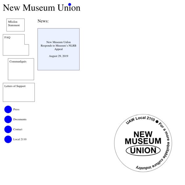 New Museum Union