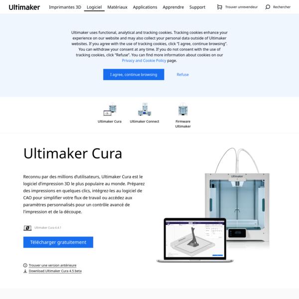 Ultimaker Cura : un logiciel d'impression 3D puissant et facile à utiliser.
