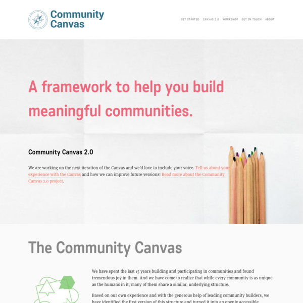 The Community Canvas