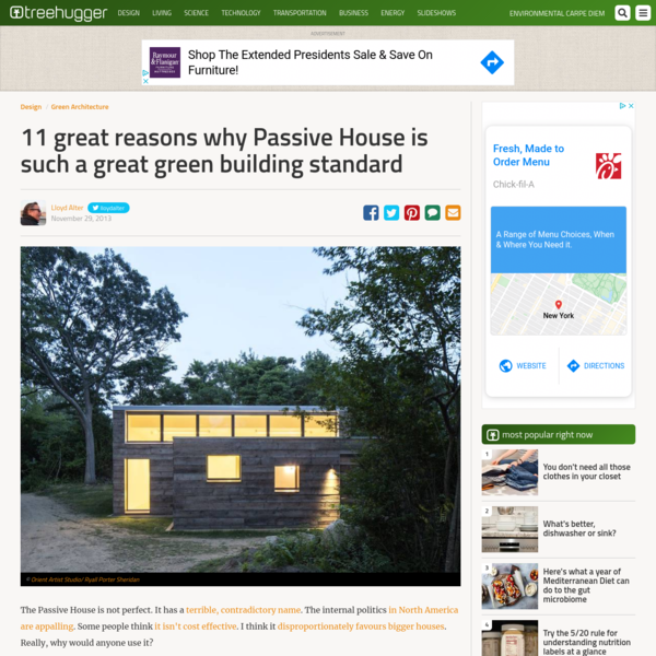 11 great reasons why Passive House is such a great green building standard