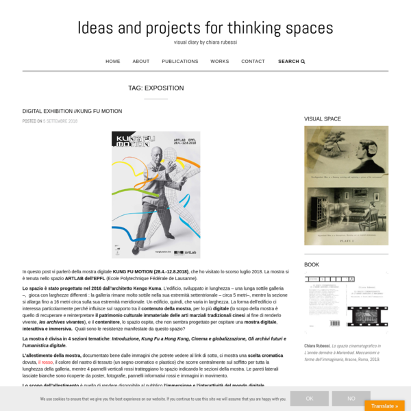 exposition | Ideas and projects for thinking spaces