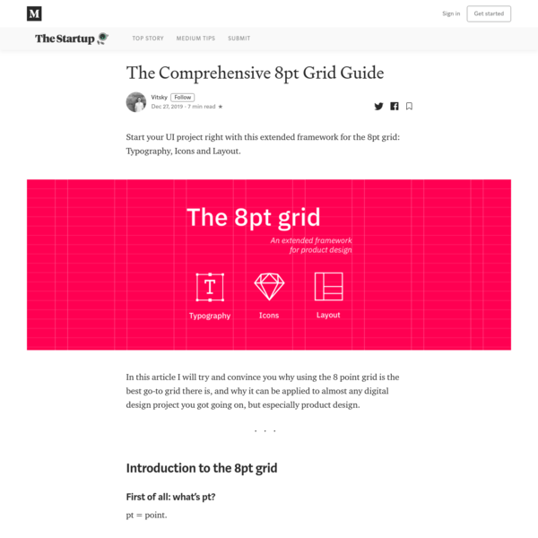 The comprehensive 8pt Grid Guide